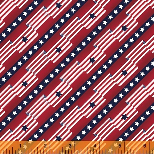 Pride & Honor Flag Stripe by Windham Fabrics