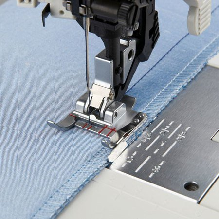 ADJUSTABLE SEAM GUIDE FOOT for IDT PFAFF
