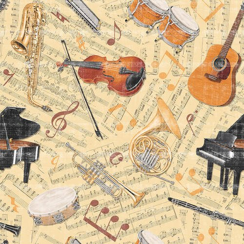 LET THE MUSIC PLAY BY BLANK QUILTING