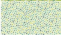 SOHO CALICO TINY FLOWER DARK BLUE by BENARTEX