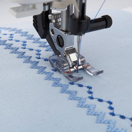 PFAFF CLEAR OPEN TOE FOOT WITH IDT SYSTEM