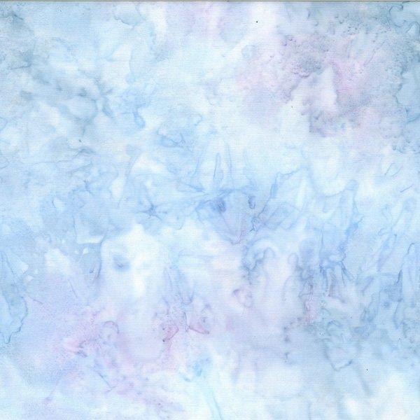 BATIK GLACIER  TONAL BLUE/PURPLE by HOFFMAN