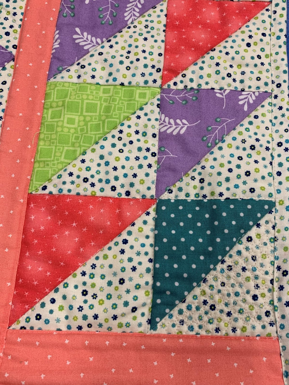 HELLO SPRING QUILT SAMPLE