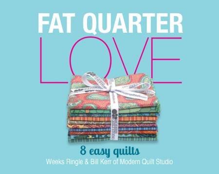 FAT QUARTER LOVE by MODERN QUILT STUDIO