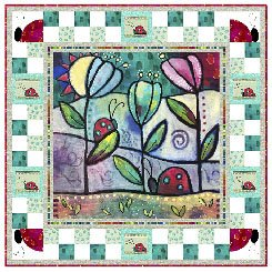 THE GARDEN PATH PATTERN by DESIREES DESIGNS