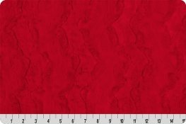 12 CUDDLE STRIP LUXE HIDE RED