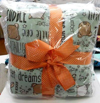 Self Binding Blanket Kit