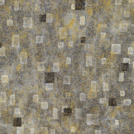 KLIMIT SQUARES GRAY/GOLD BY KAUFFMAN