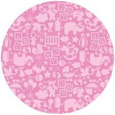 TOSSED TOY PINK by BLEND FABRICS