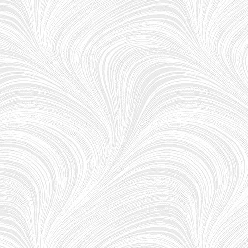 WAVE TEXTURE WHITE by BENARTEX