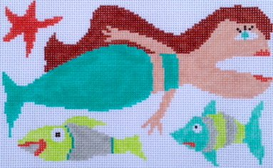 Folk Art Mermaid