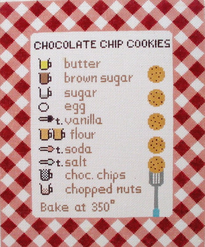 Chocolate Chip Recipe - red