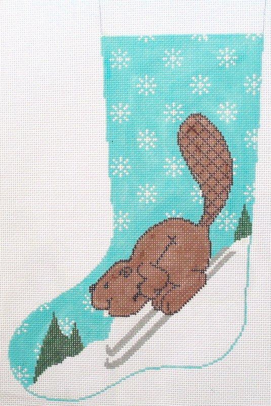 Beaver Skier