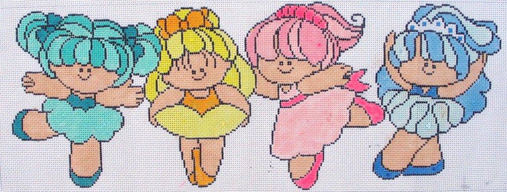 Rainbow Ballerinas