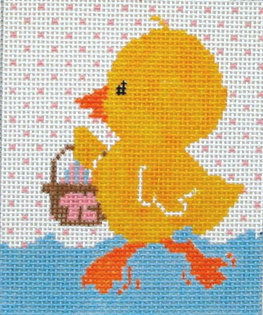 Duck with Basket