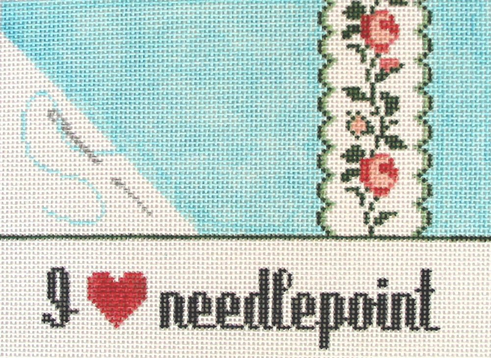 Needlepoint - Blue