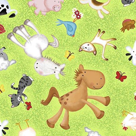 Animal Farm Toss Lt Green 24948-G