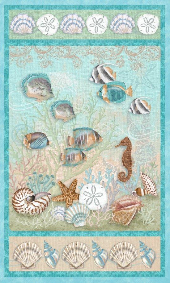 Seaside Dreams Panel 3426P 16