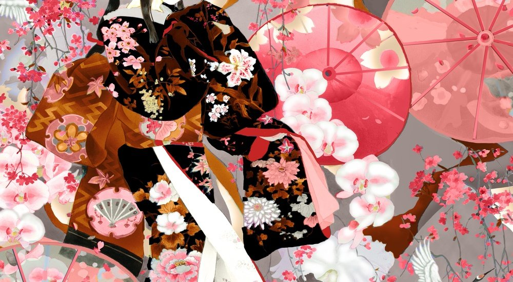 Blank Quilting Michiko 7448 92