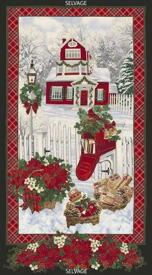 Holiday Snow Panel CM4987