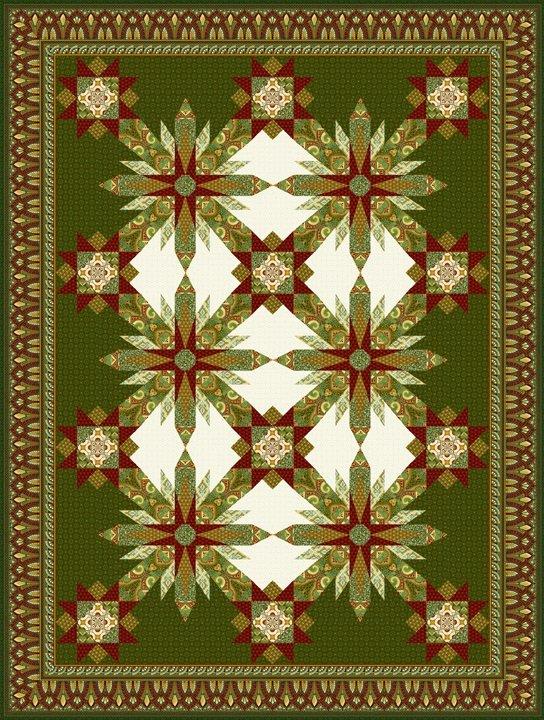 Deco Elegance Quilt Pattern