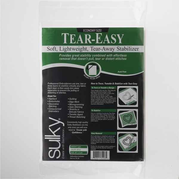 Sulky Tear-Easy Stabilizer 20 X 3 yds