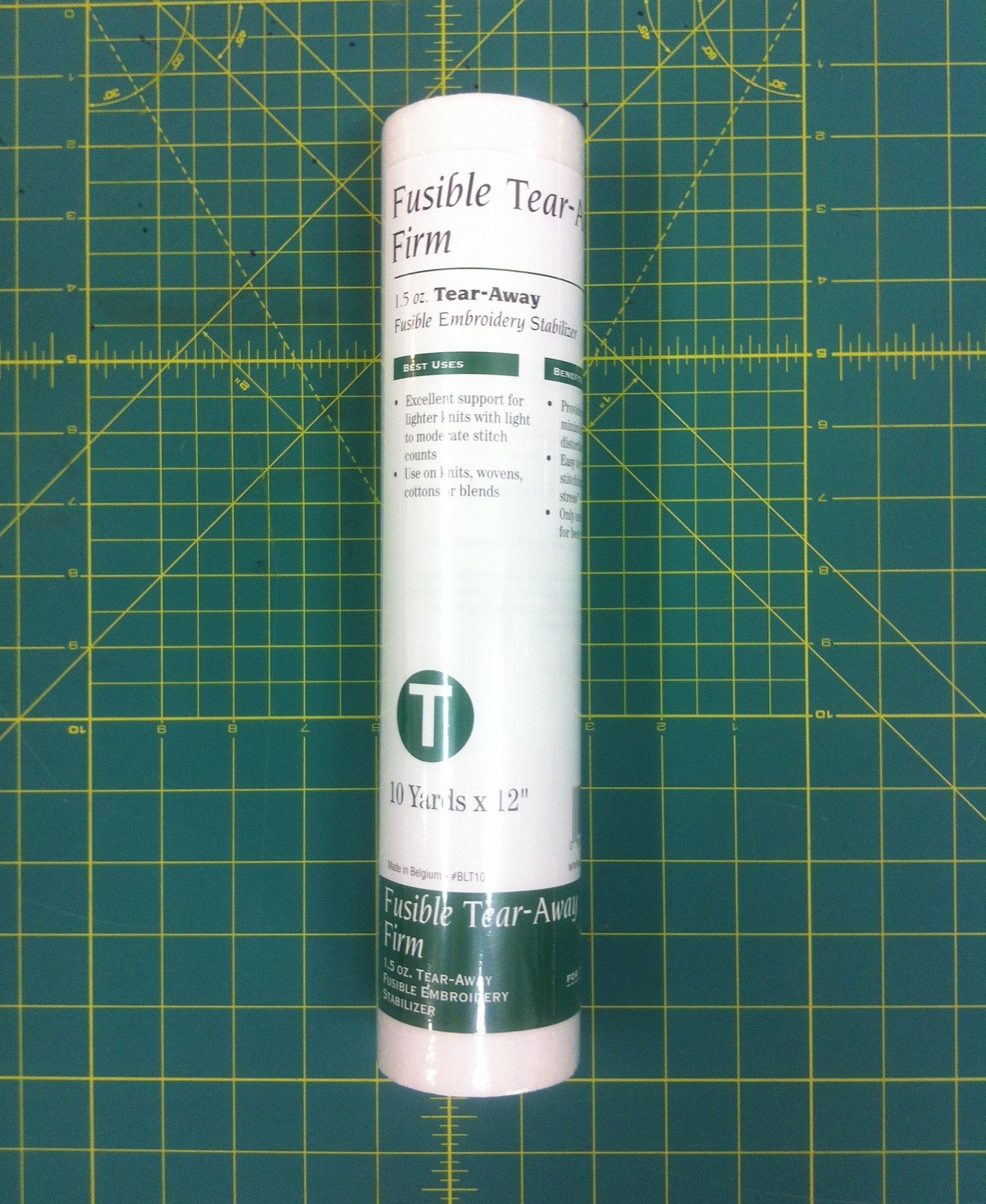 Fusible Tear-Away Firm