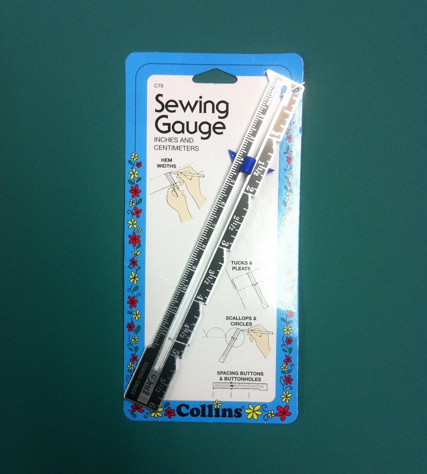 Collins Sewing Gauge