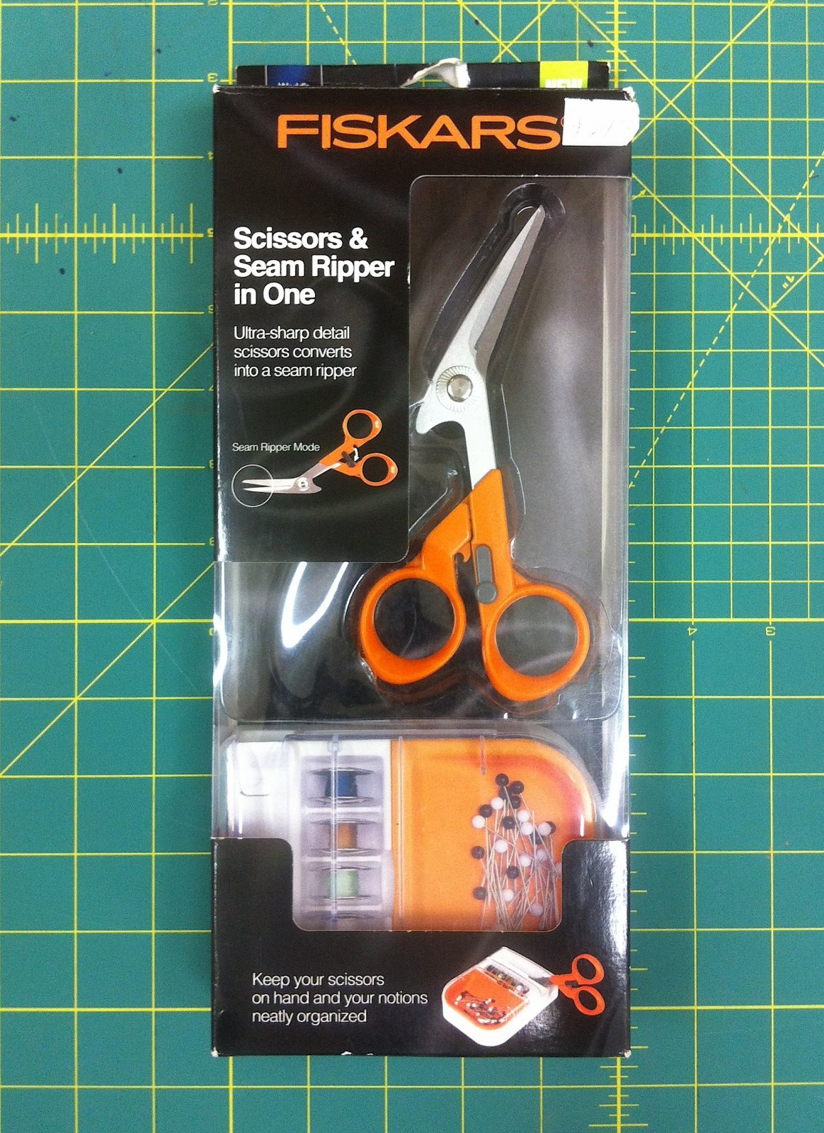 Scissors and Seam Ripper In One