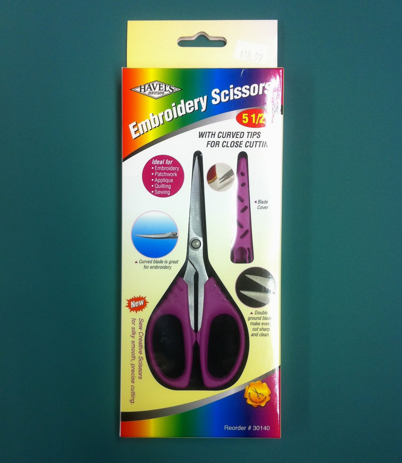 Havel's 5.5 Curved Tip Embroidery Scissors