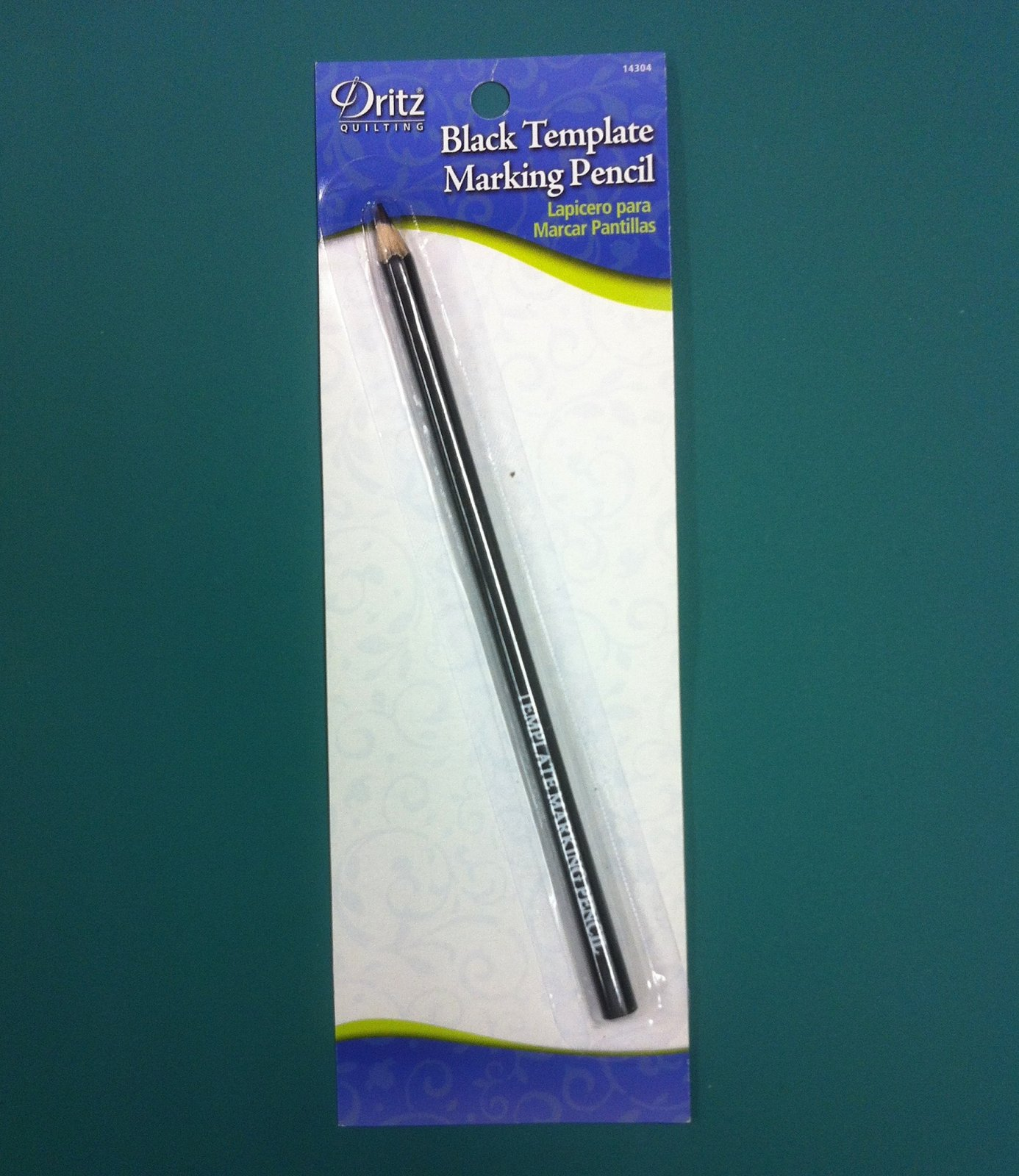 Black Template Marking Pencil
