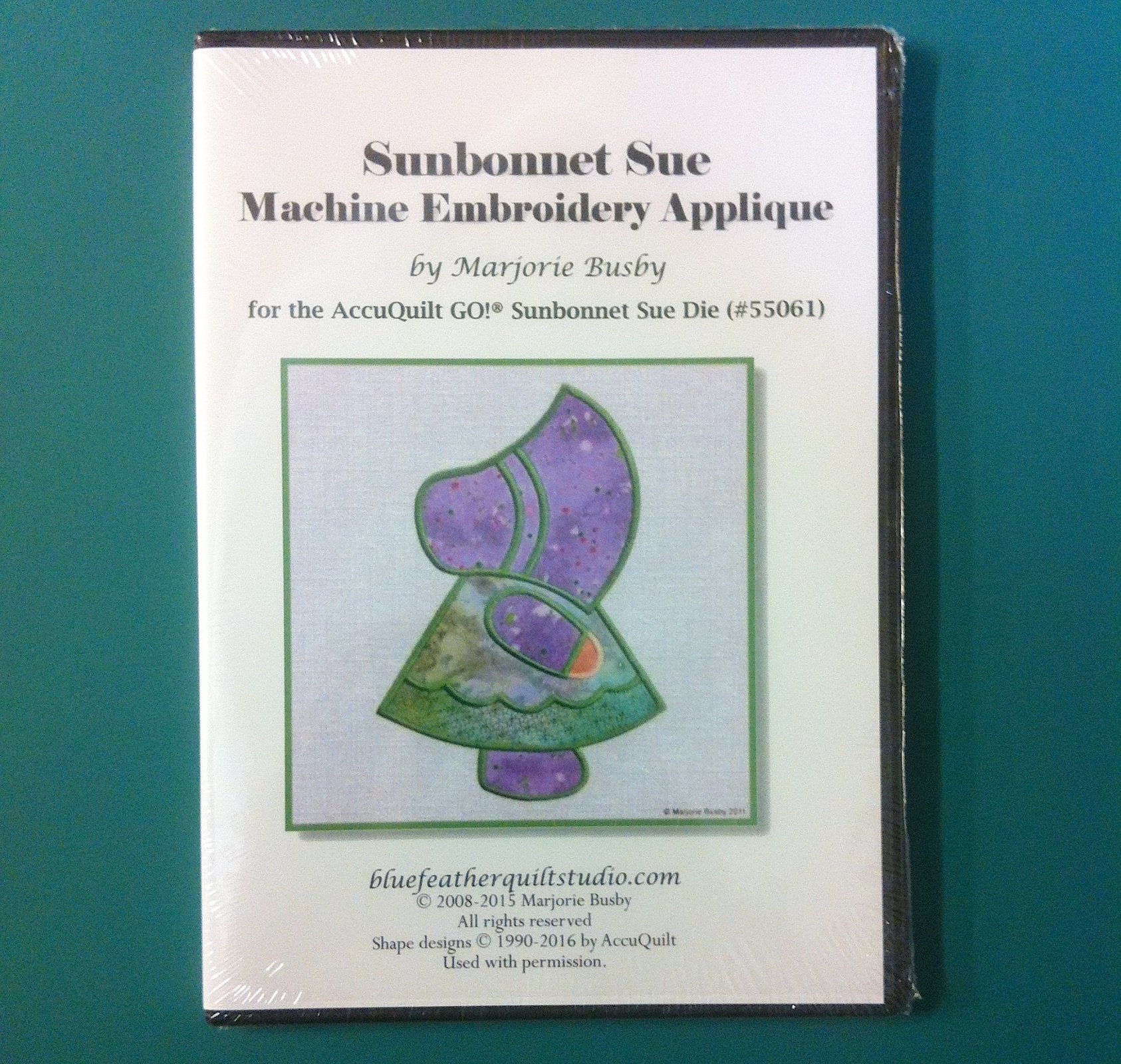 Sunbonnet Sue Machine Embroidery Applique