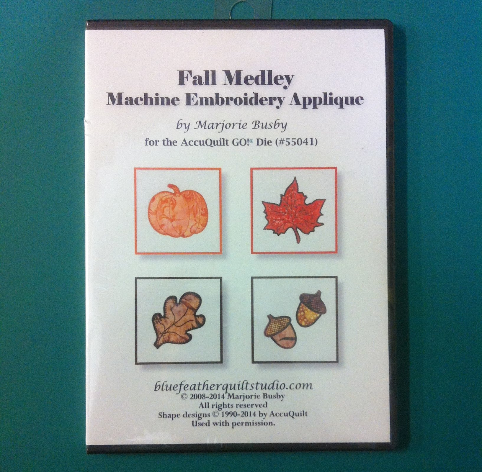 Fall Medley Machine Embroidery Applique