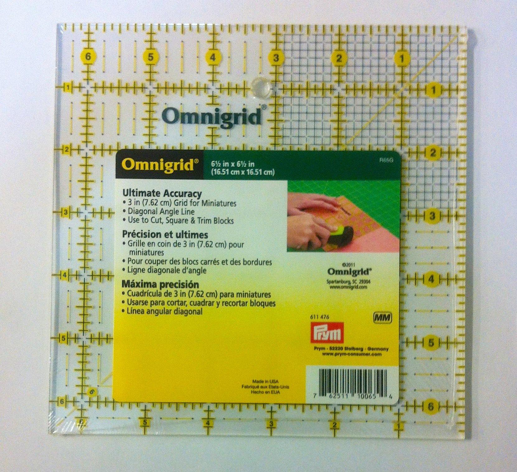 Omnigrid 6.5 X 6.5 in.