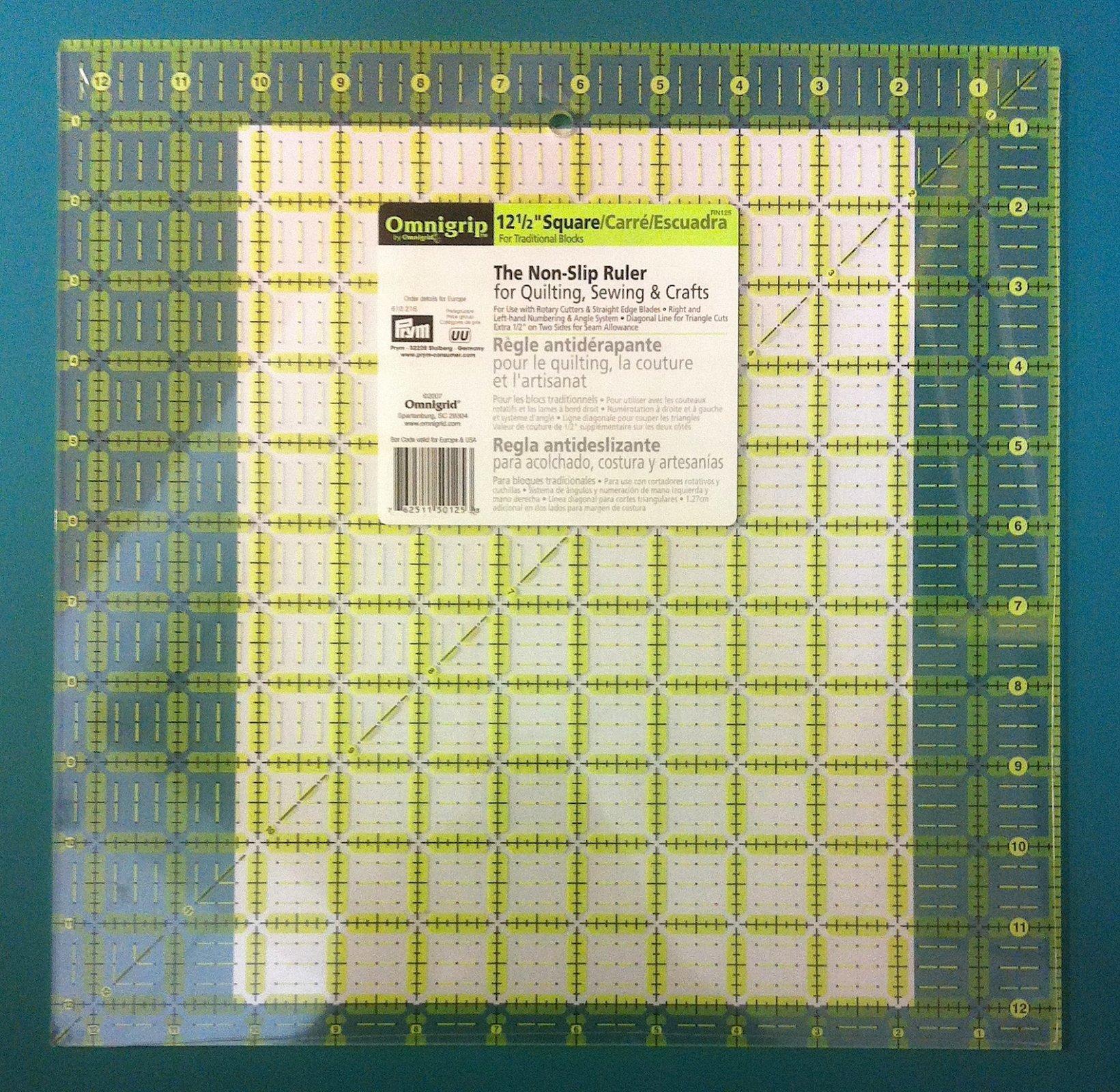 Omnigrip 12.5 in Square Ruler