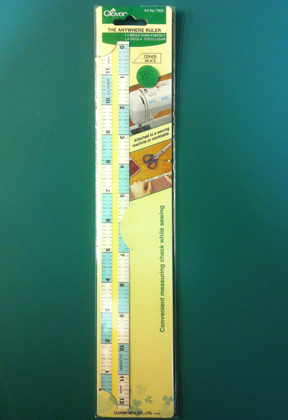 Clover Anywhere Ruler
