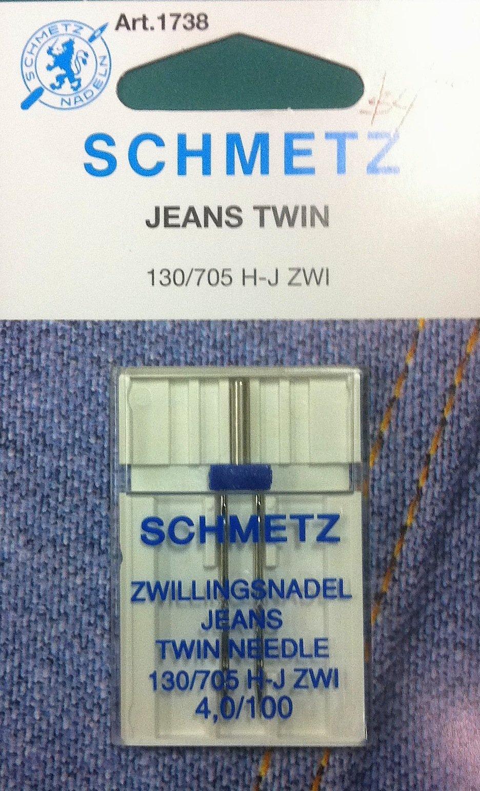 Schmetz Jeans Twin Needle 4.0/100