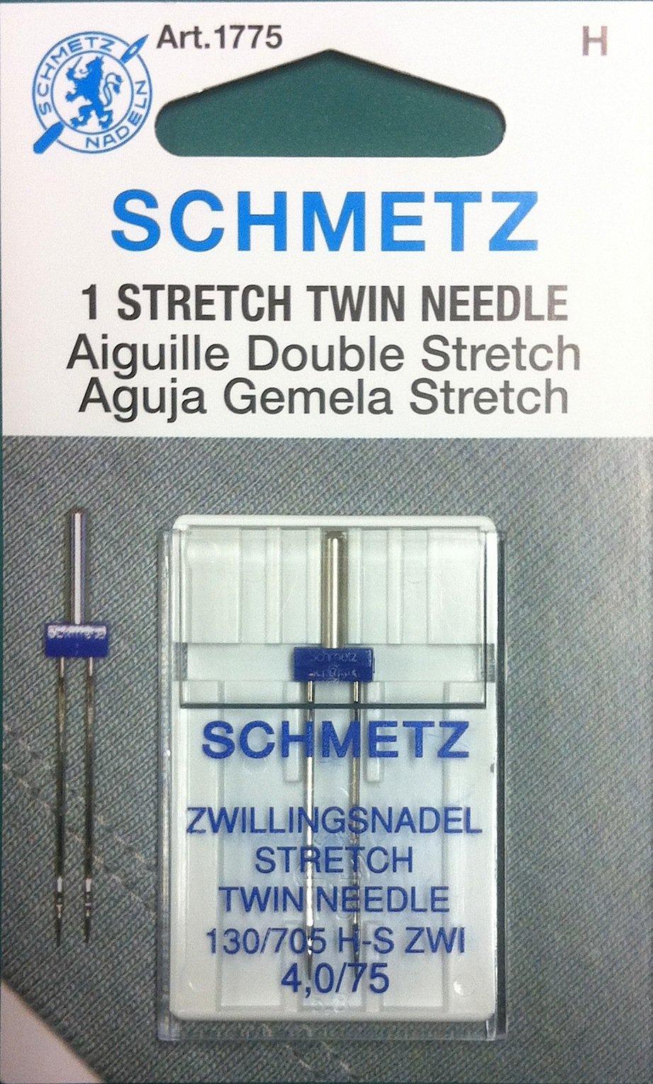 Schmetz Stretch Twin Needle 4.0/75