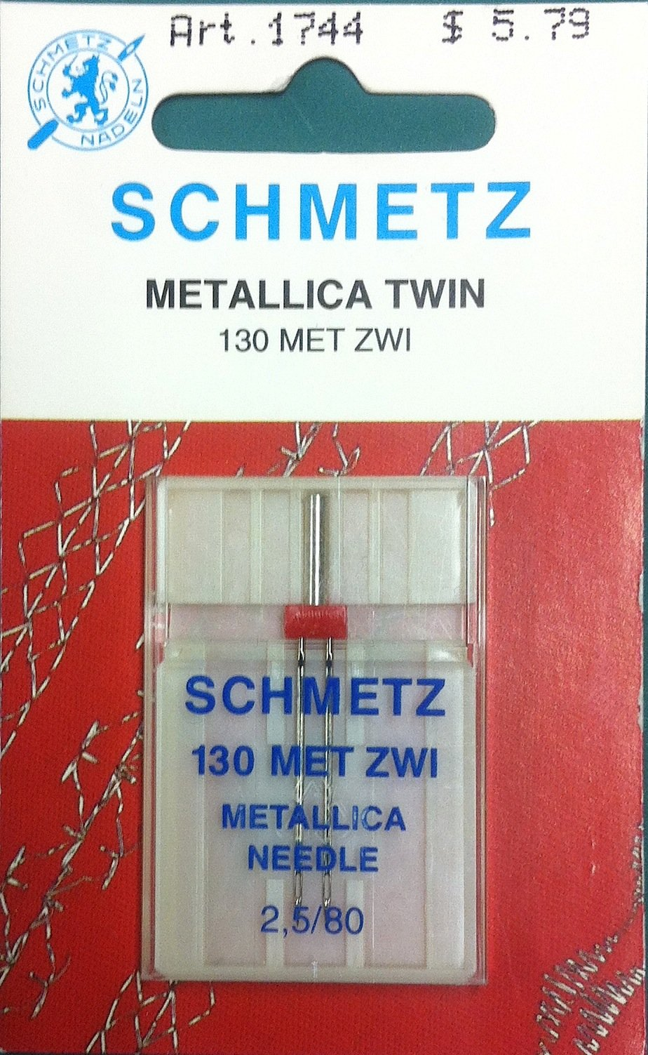 Schmetz Metallica Twin Needle 2.5/80