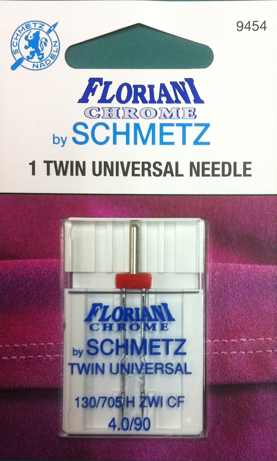 Schmetz Floriani Chrome Twin Needle 4.0/90