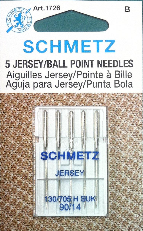 Schmetz Jersey Ball Point needles 90/14