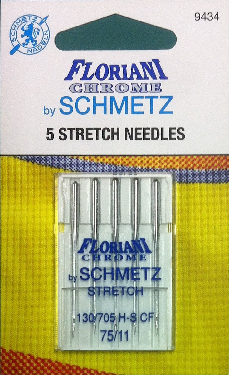 Schmetz Floriani Chrome Stretch Needles 75/11