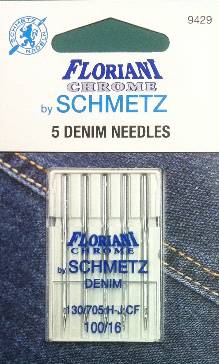 Schmetz Floriani Chrome Denim Needles 100/16