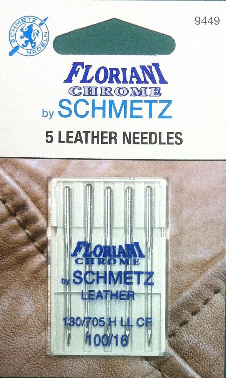 Schmetz Floriani Chrome Leather Needles 100/16