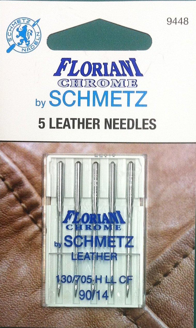Schmets Floriani Chrome Leather Needles 90/14