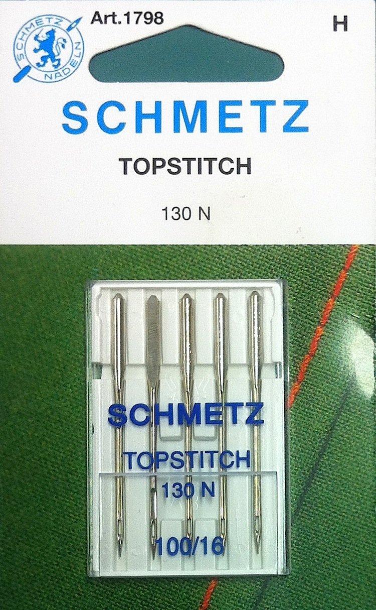 Schmetz Topstitch Needles  100/16
