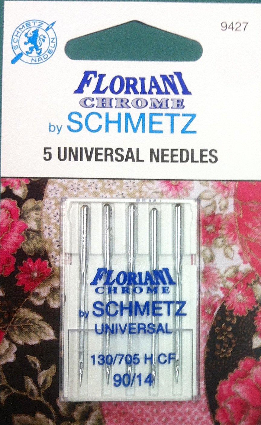 Schmetz Floriani Chrome Universal Needles 90/14