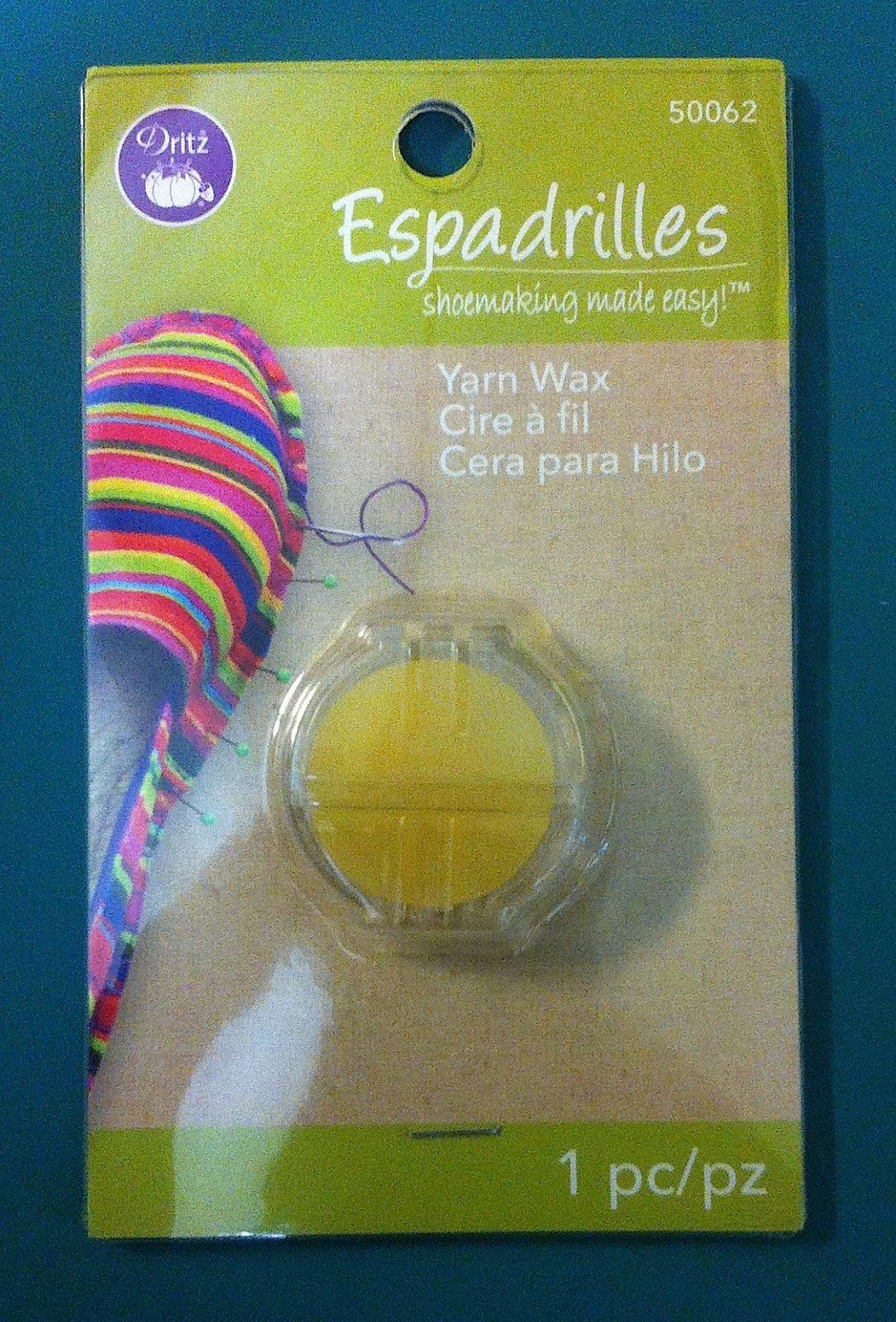 Espadrilles Yarn Wax