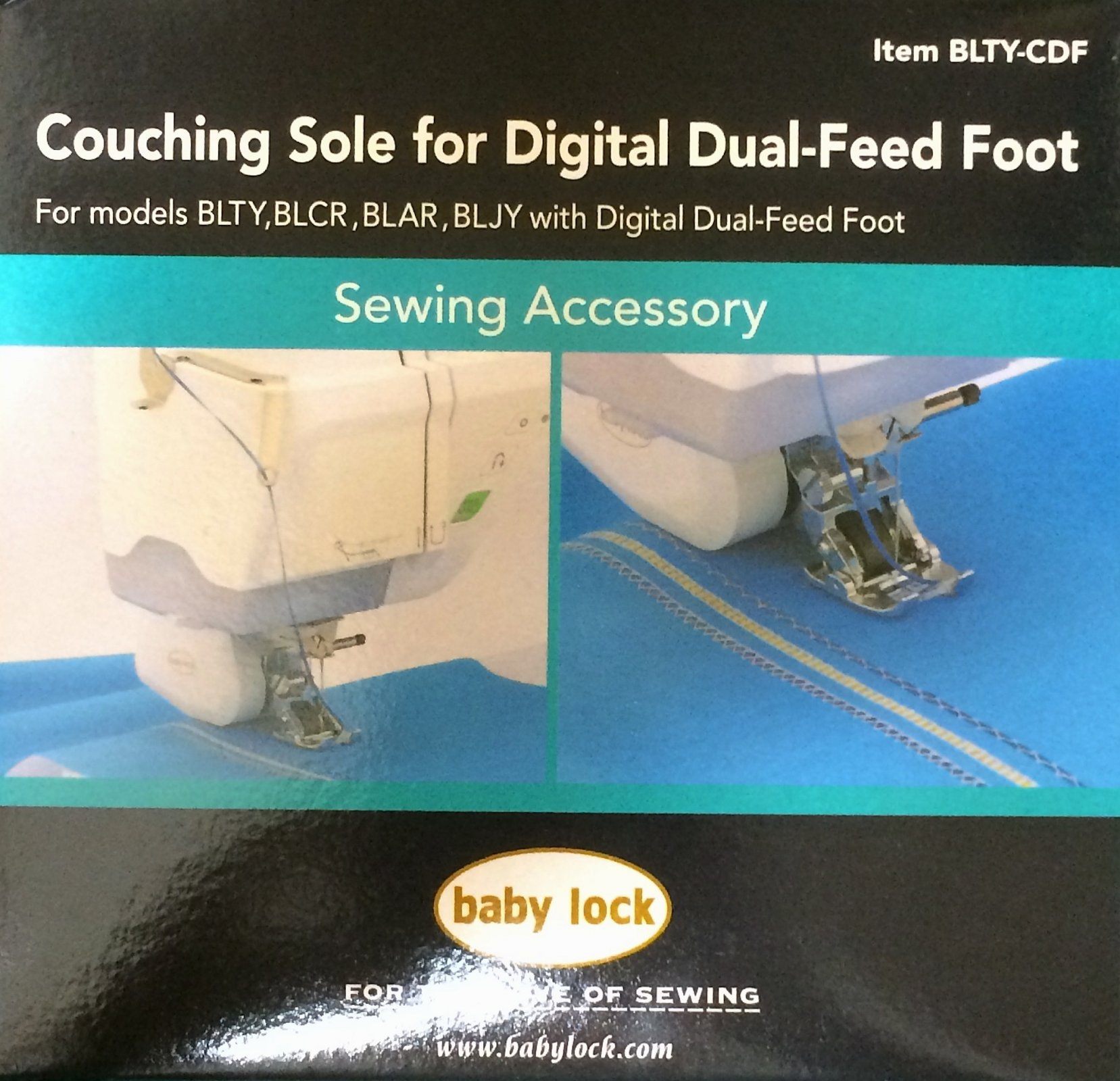 Couching Sole for Digital Dual Feed