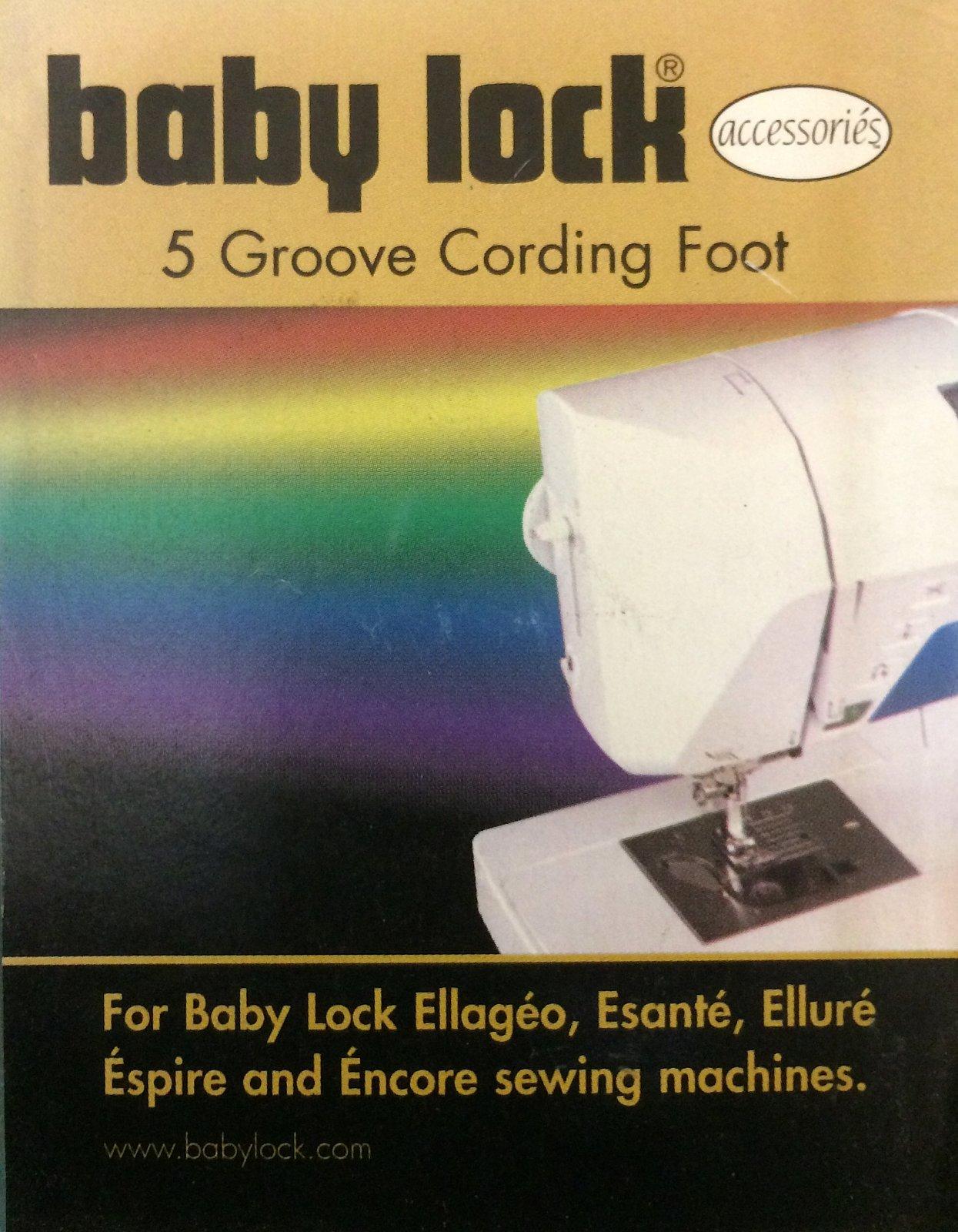 5 Groove Cording Foot